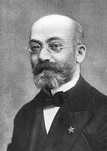 Ludwig Lejzer Zamenhof, il Doktoro Esperanto